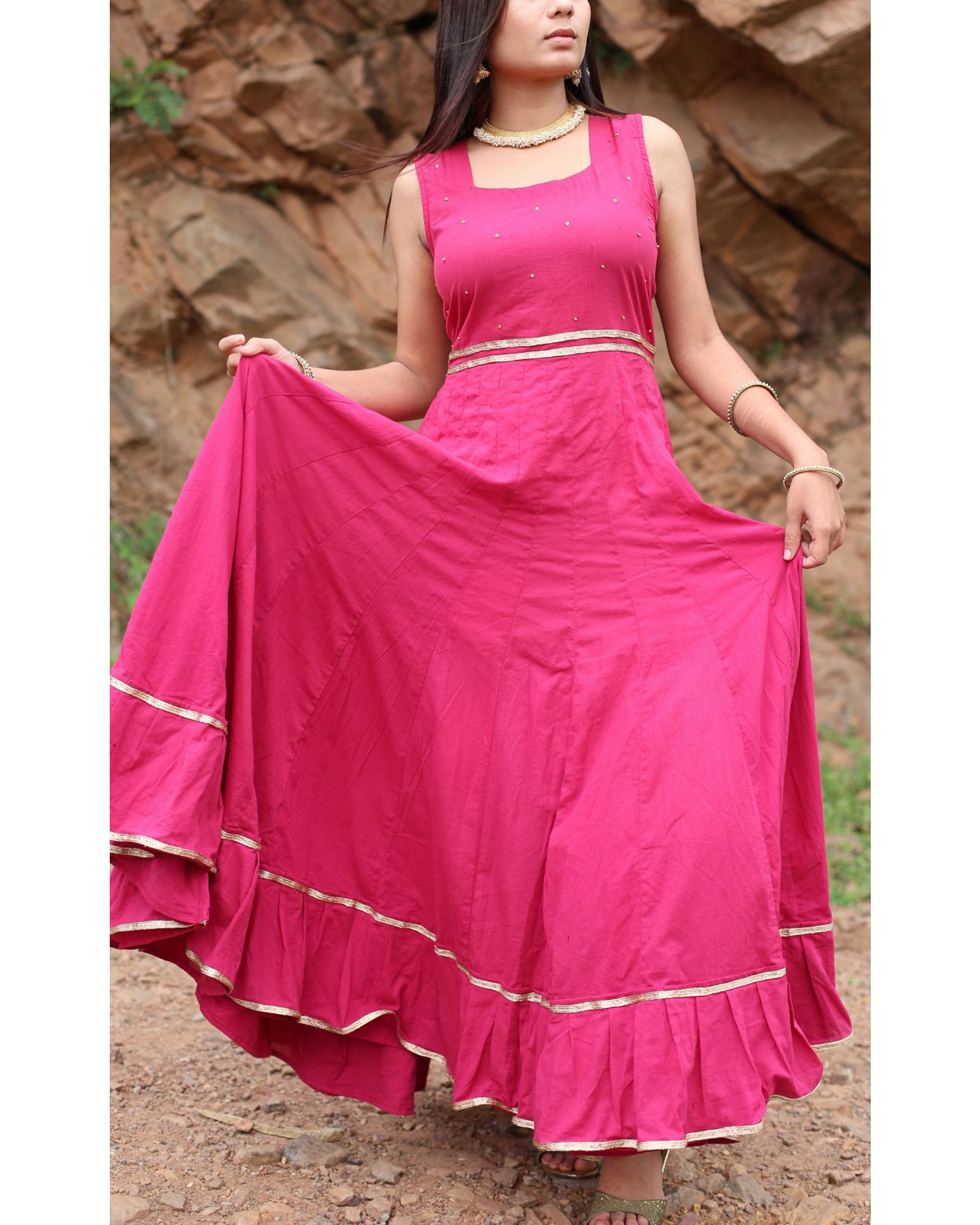 Gulabo flared dress