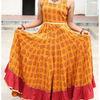 Thumb haldi chandan bagh print cotton flared dress  7