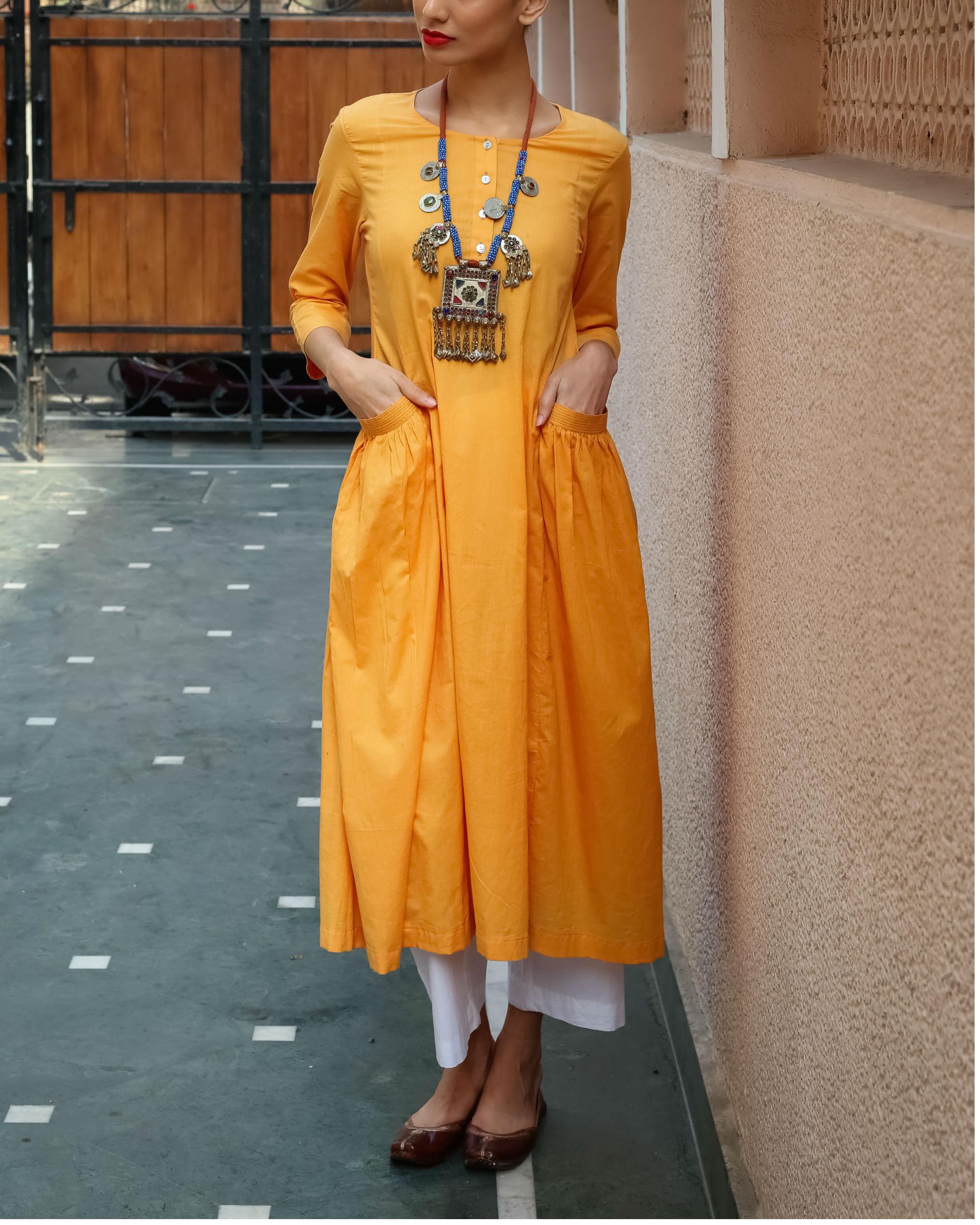 Marigold tunic
