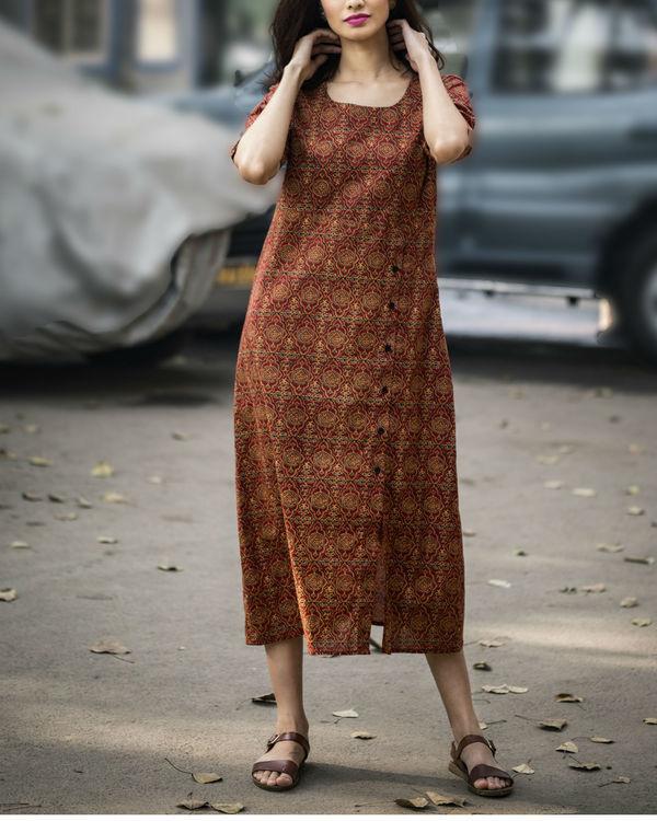 Persian printed long dress