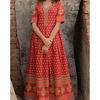 Thumb crimson block dress 2