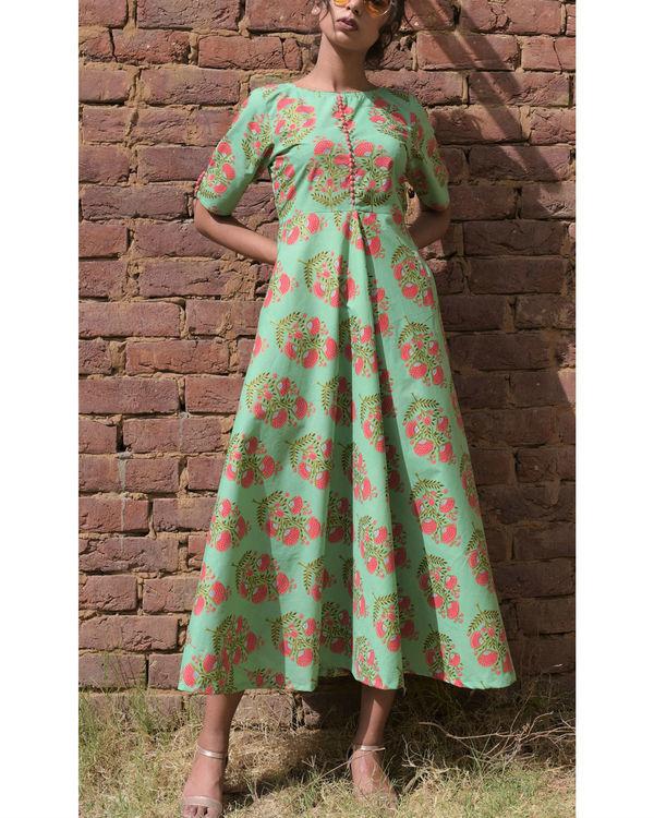 Pastel pistachio dress
