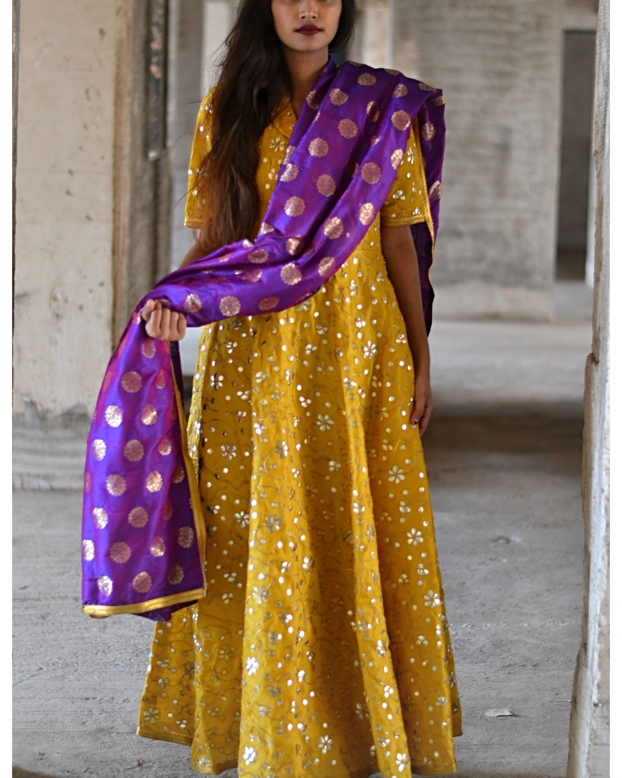 Princess dress with dupatta