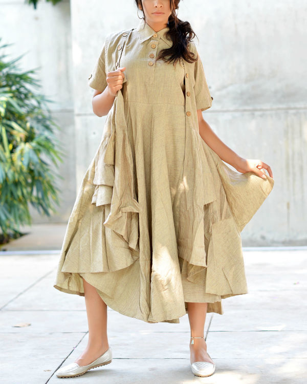 Double layer sand tunic