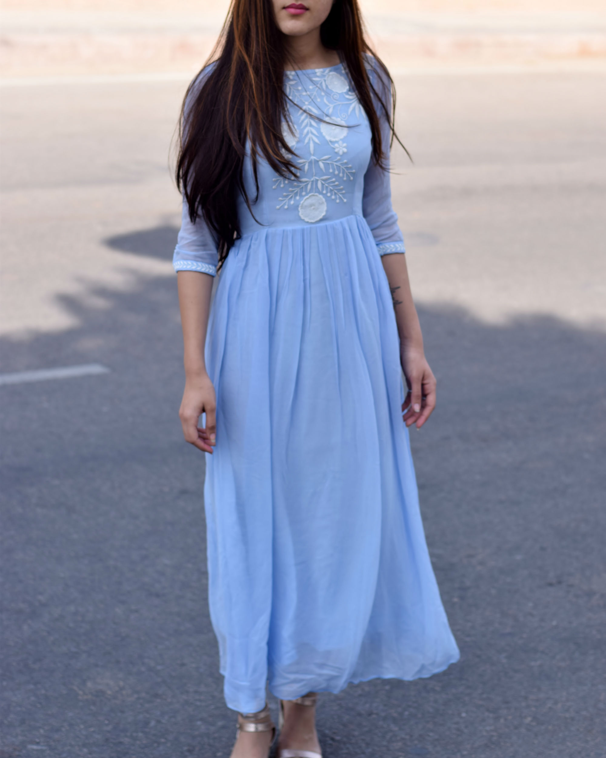 12ac2fe20a Skies maxi dress by Label Shivani Vyas | The Secret Label
