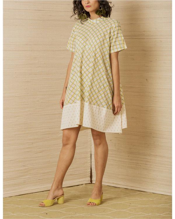 Checkered Swing Dress
