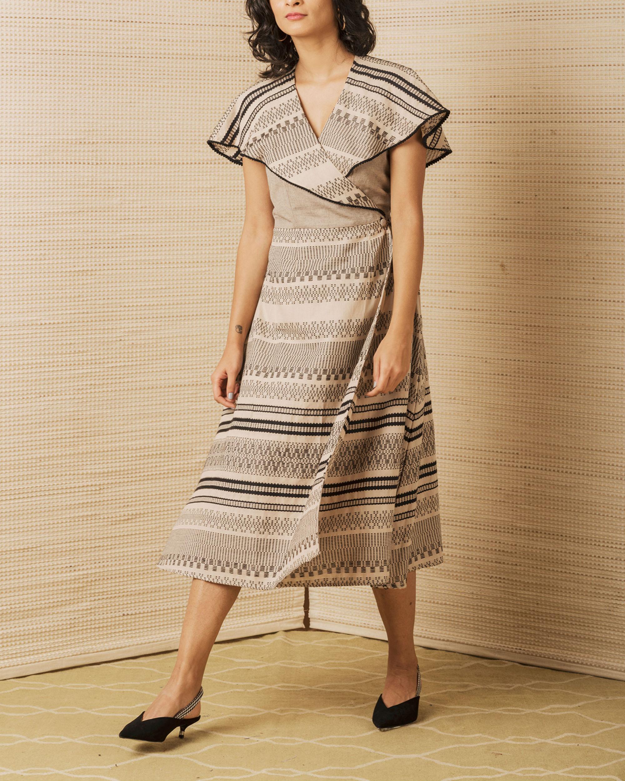 Brown Sailor Dress