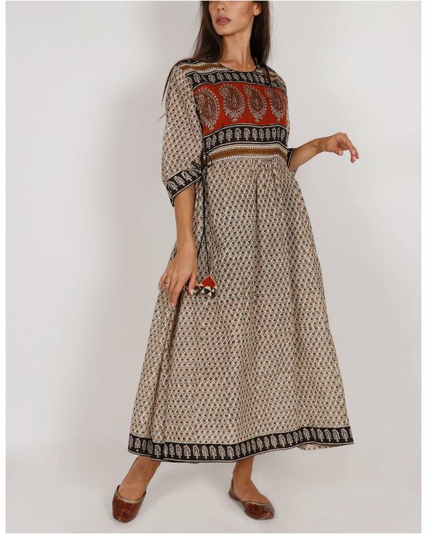 Red Buta Peshbaan Dress