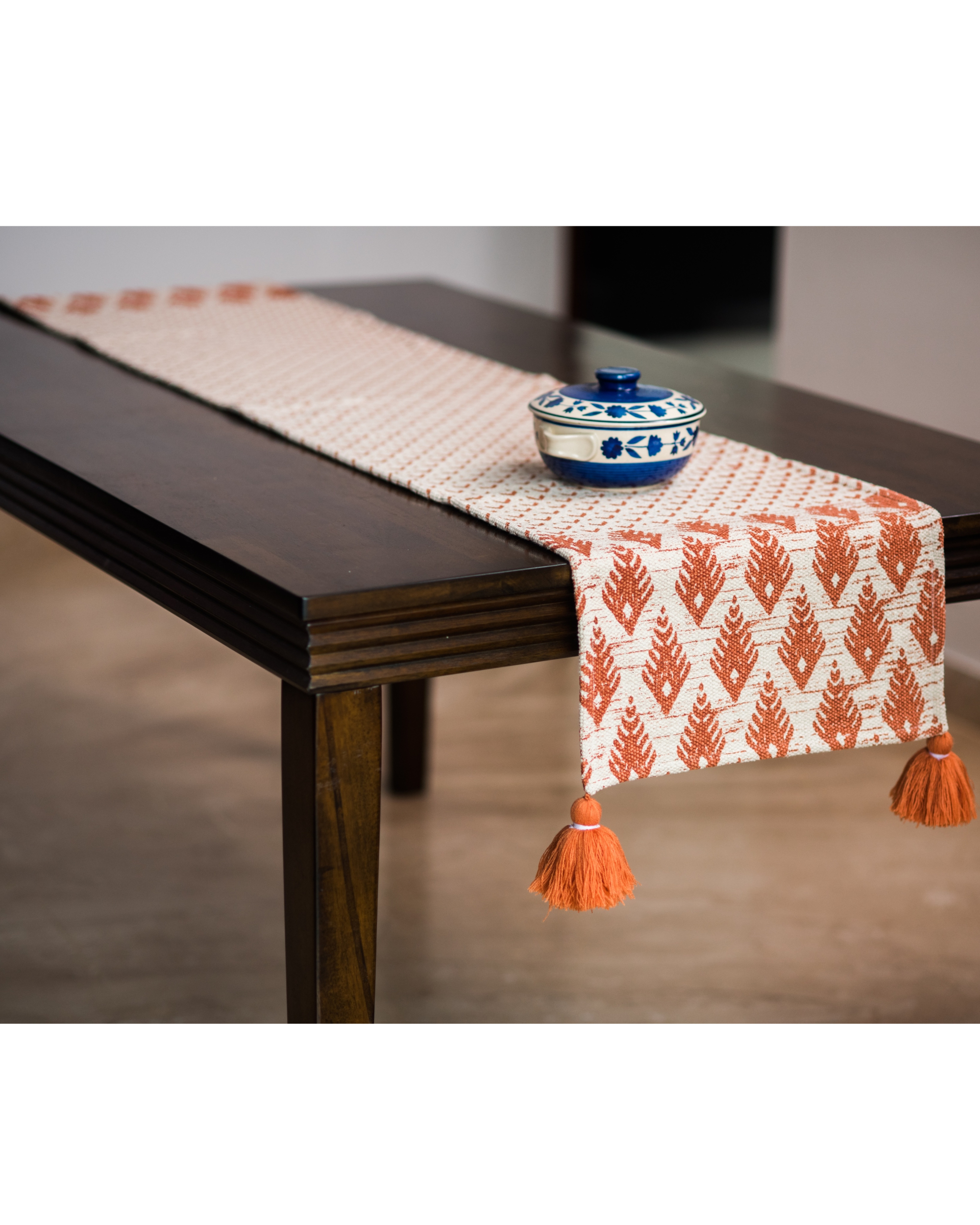 Denmark Mud Small Table Runner By Ode And Cleo The Secret Label
