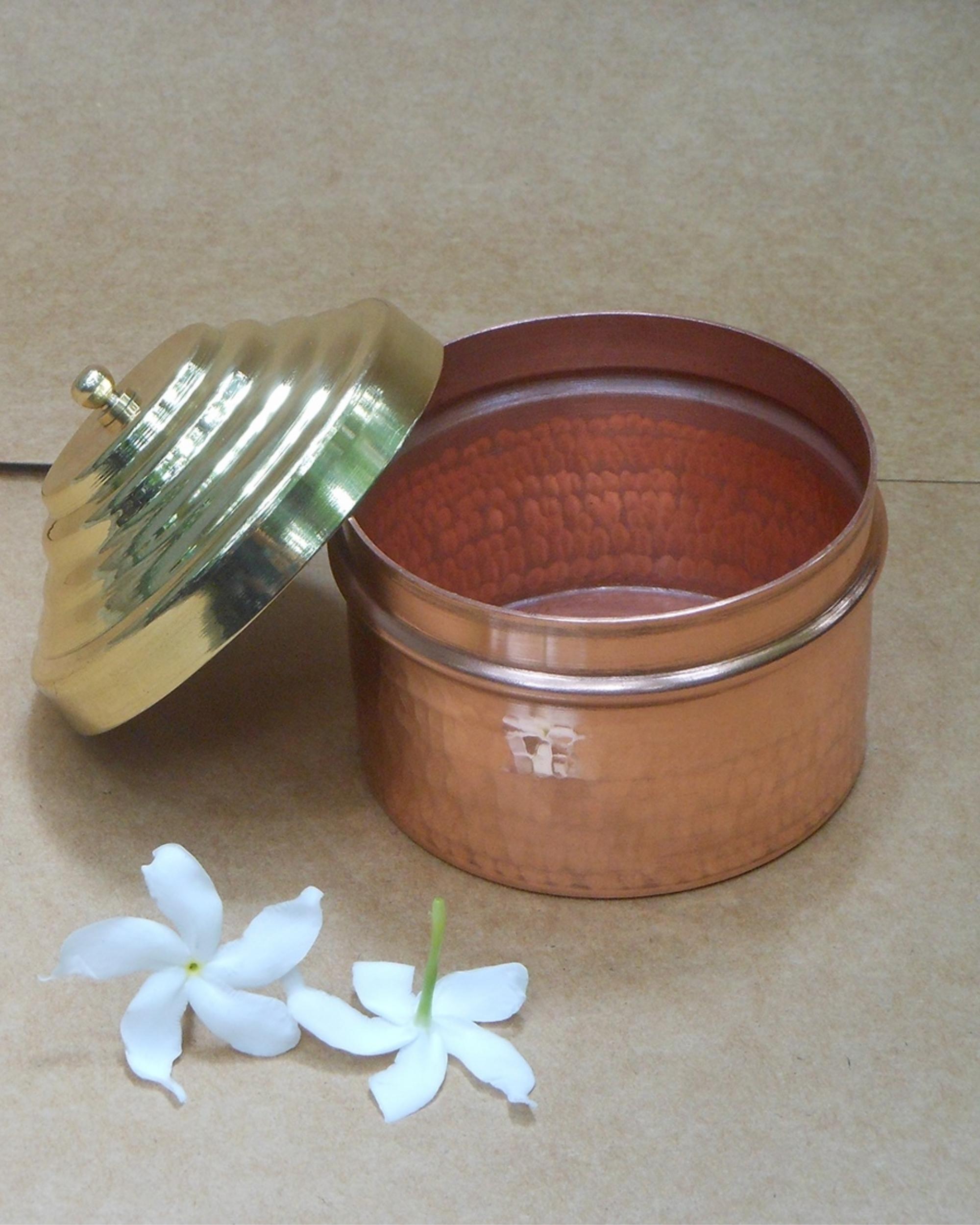 Heirloom copper box