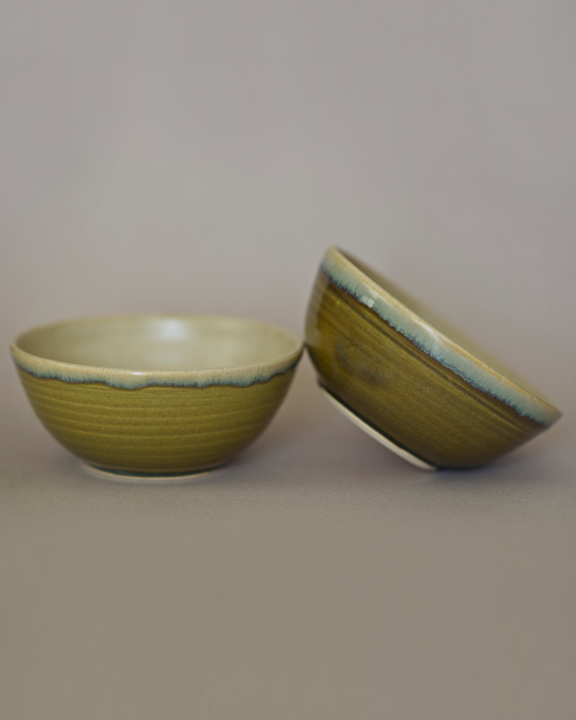 Sea mist serving bowl