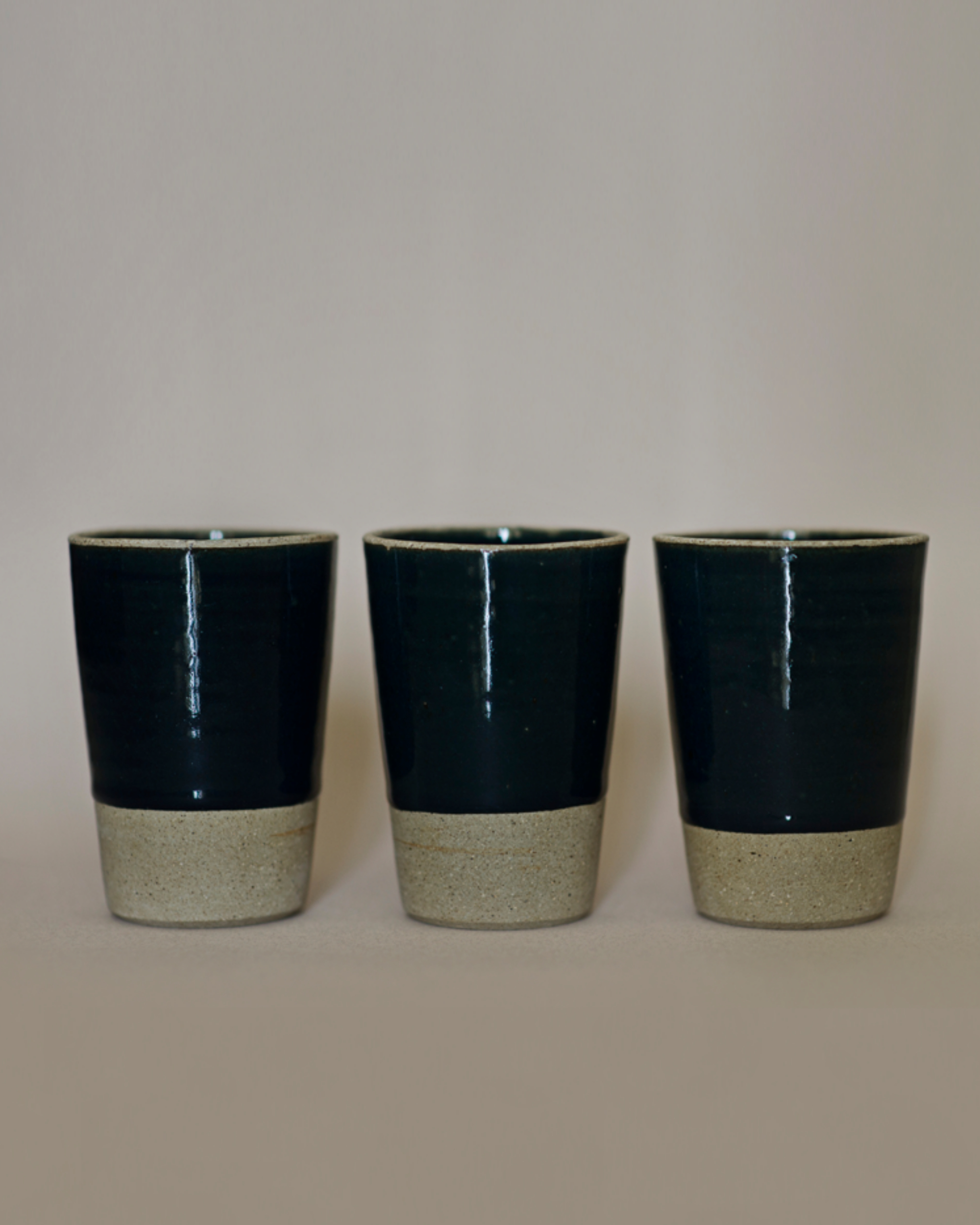 Midnight blue tumblers - set of two