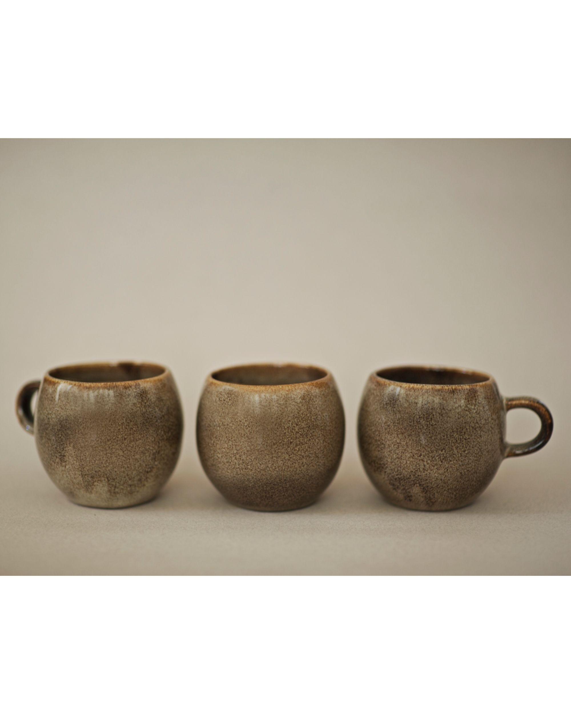 Sandstone coffee mugs - set of two