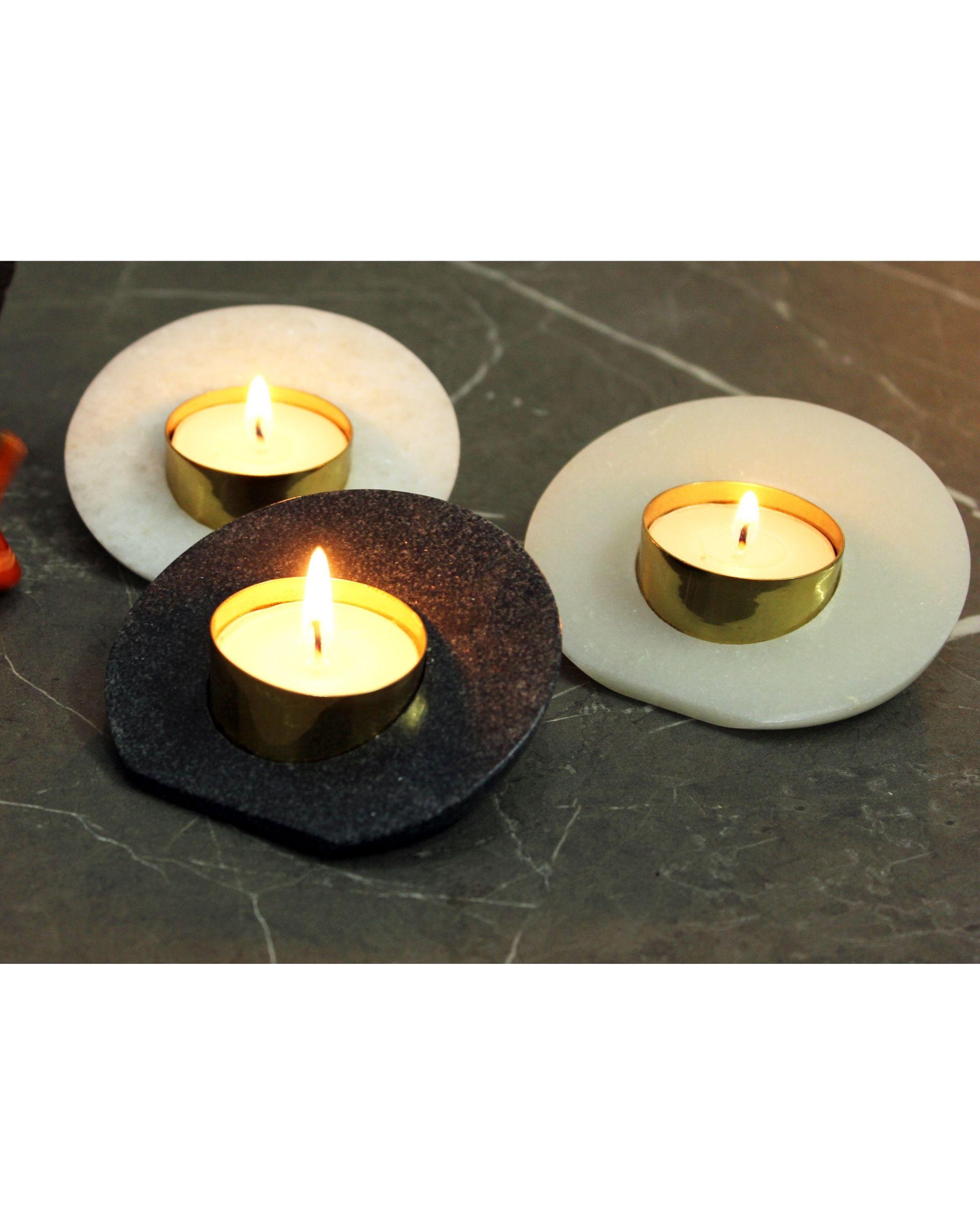 Sangemarmar tea light - Set Of Three