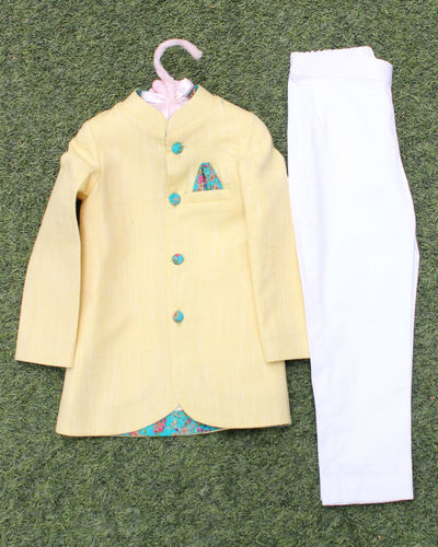 Pastel Kurta Pyjama Set