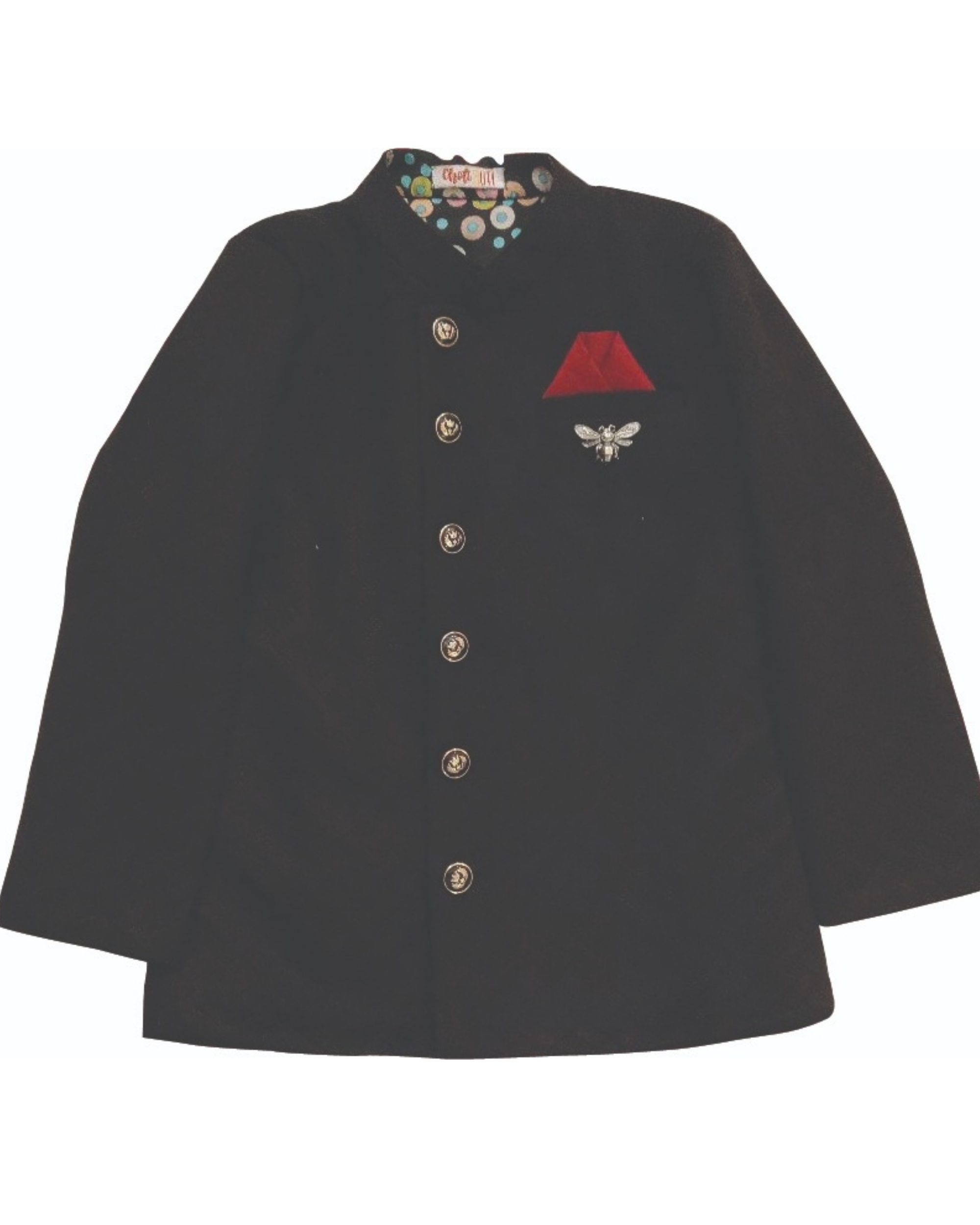 Bandh gala black jacket