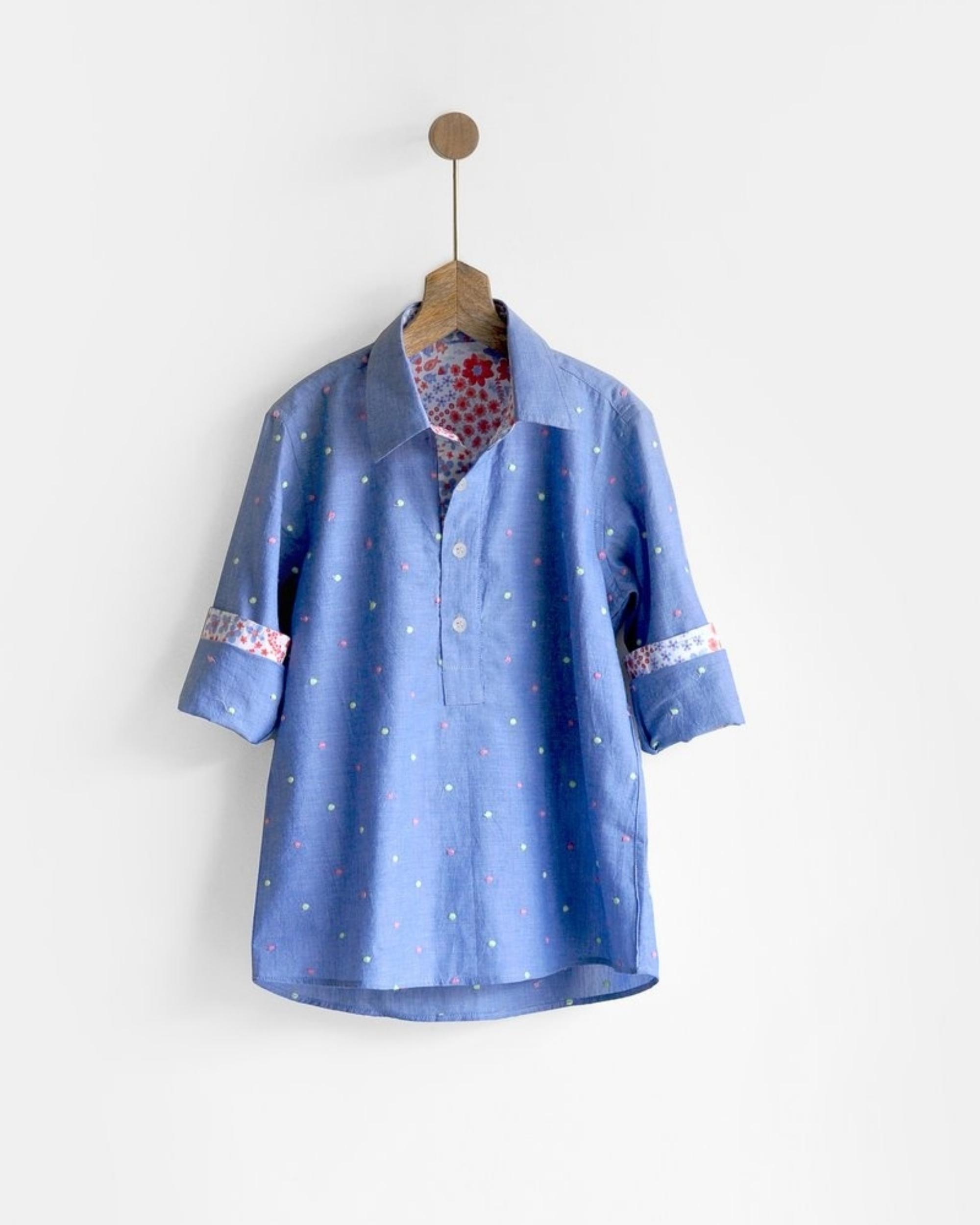 Embroidered kurta shirt