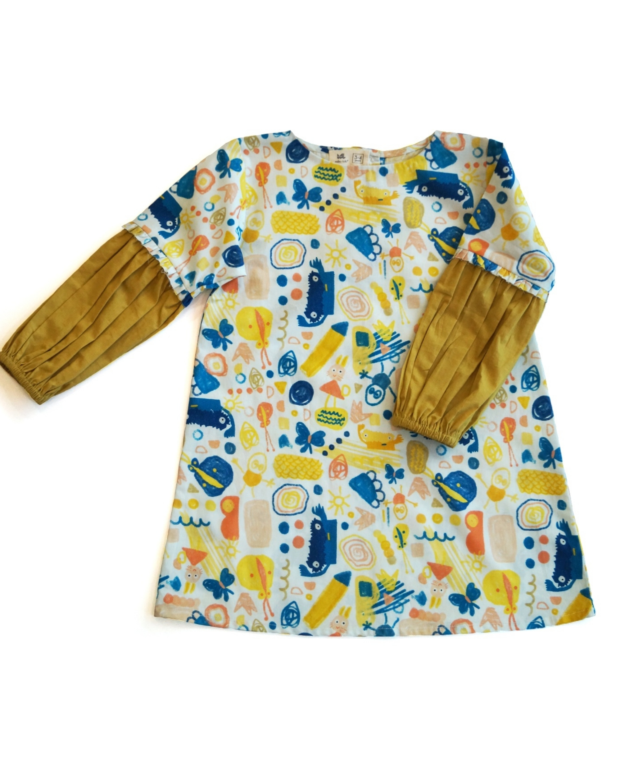 Scridoodle printed dress