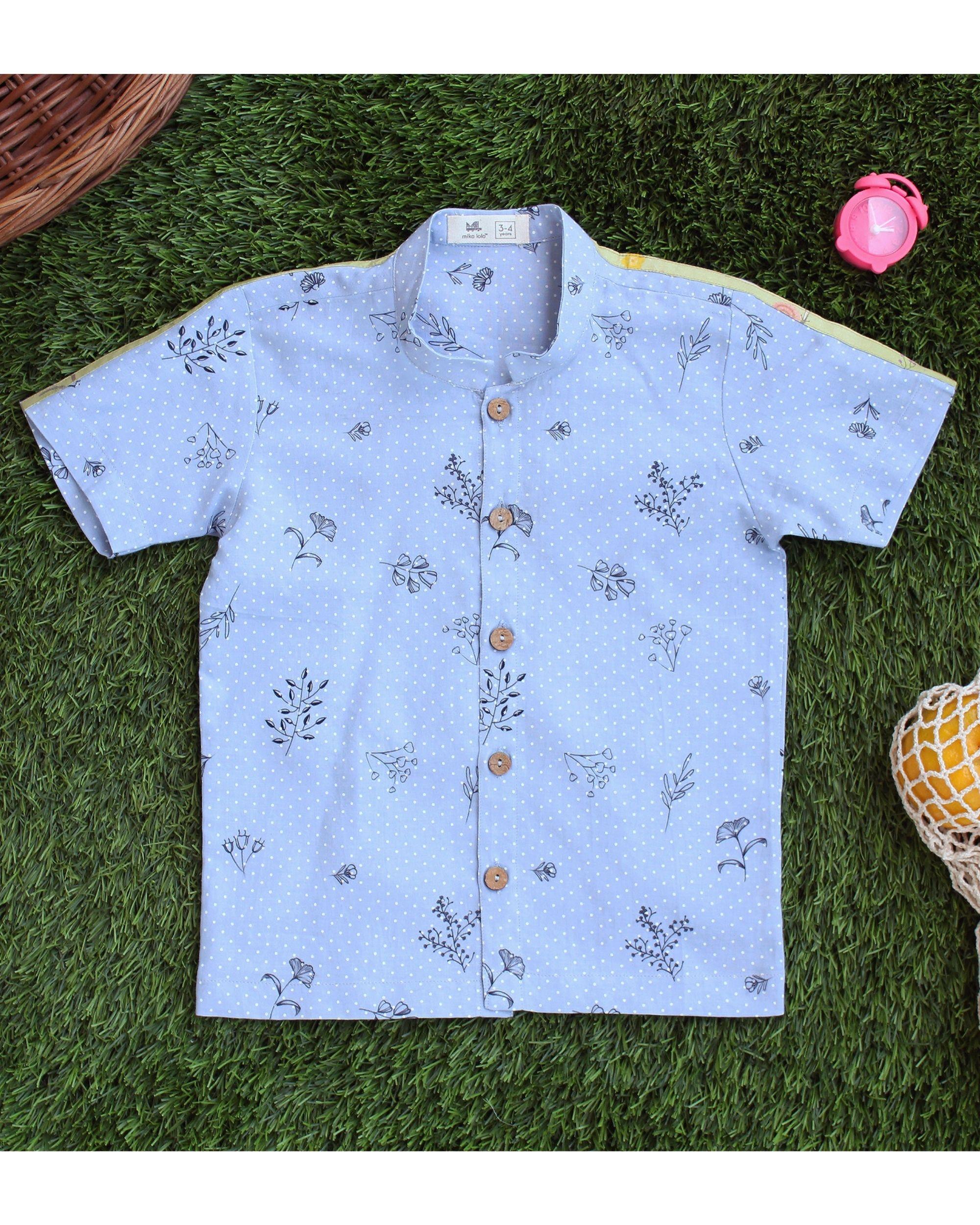Summer breeze printed shirt