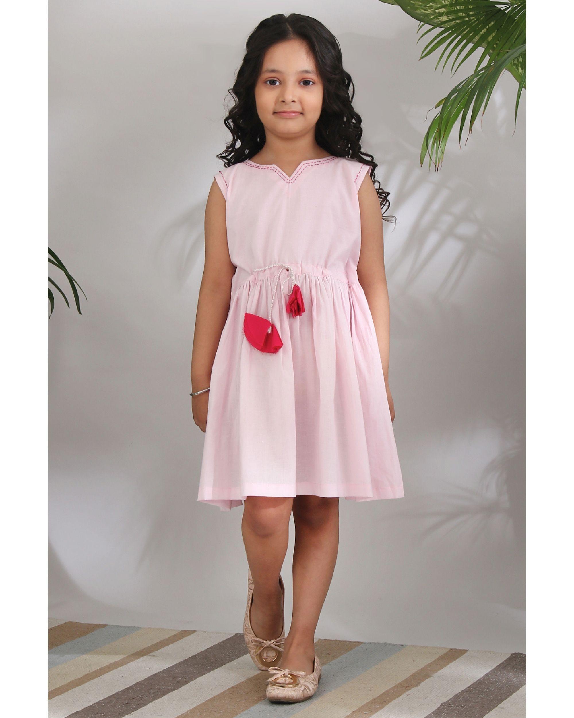 Gulab kantha dress