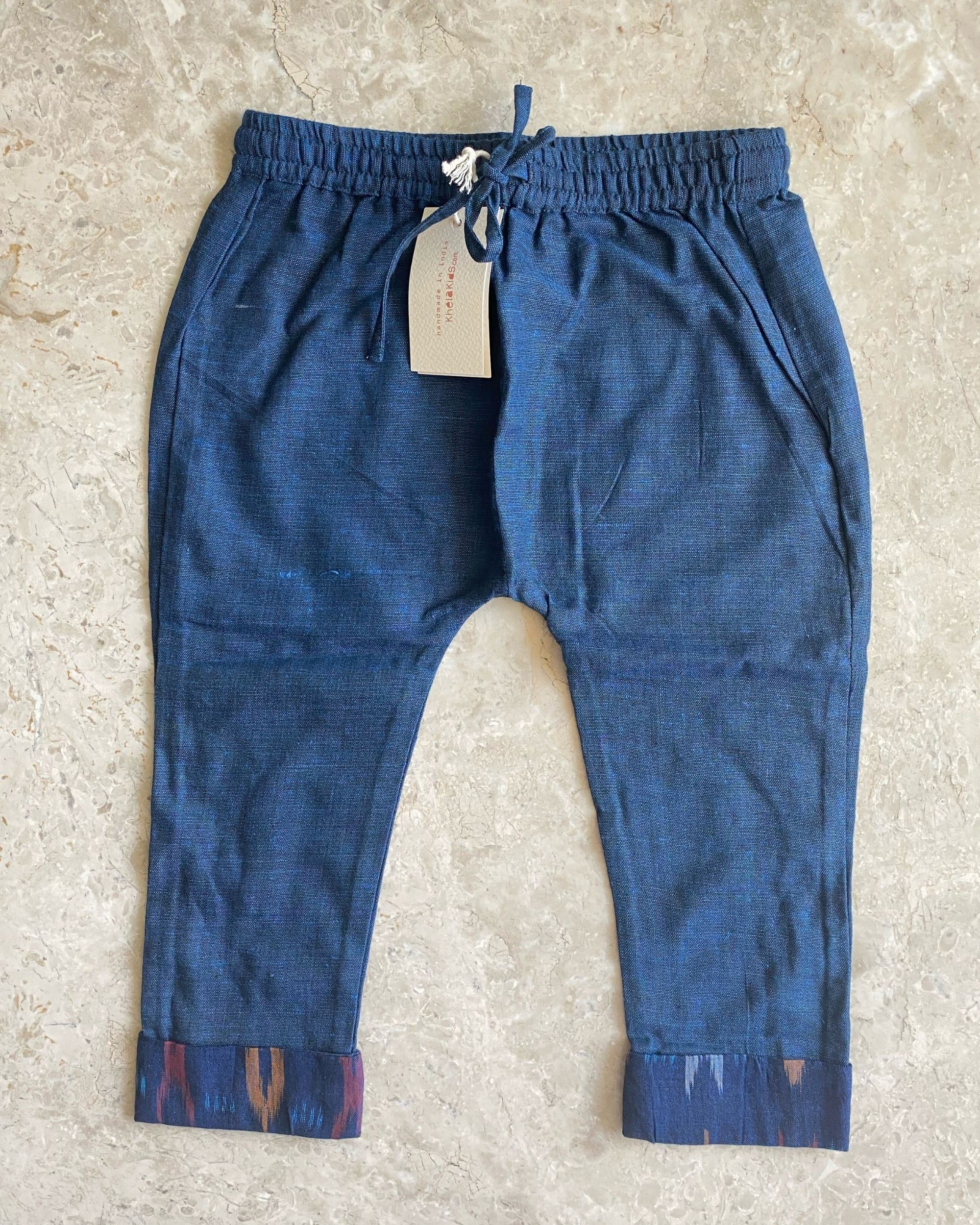 Indigo malkha cotton pants
