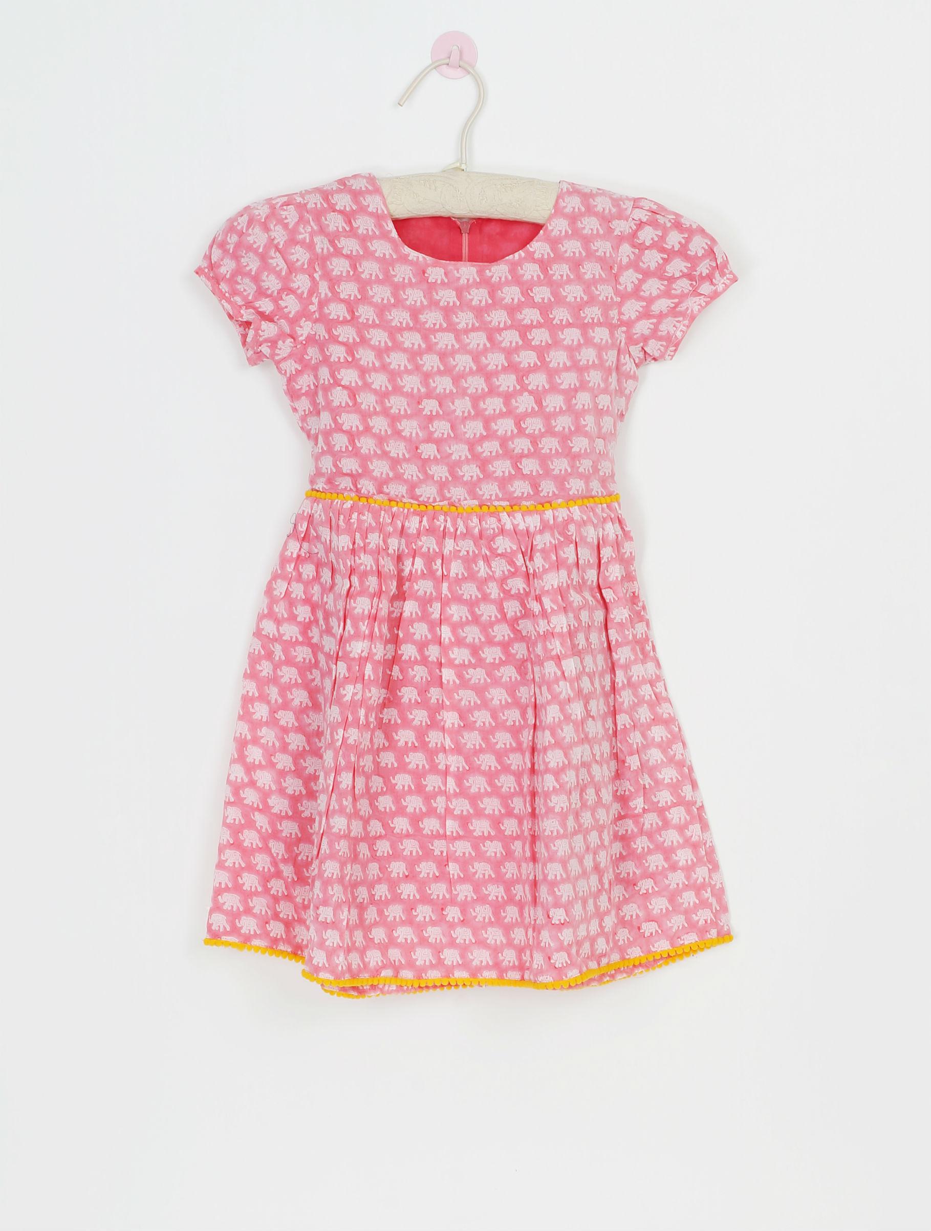 Pink elephant dress