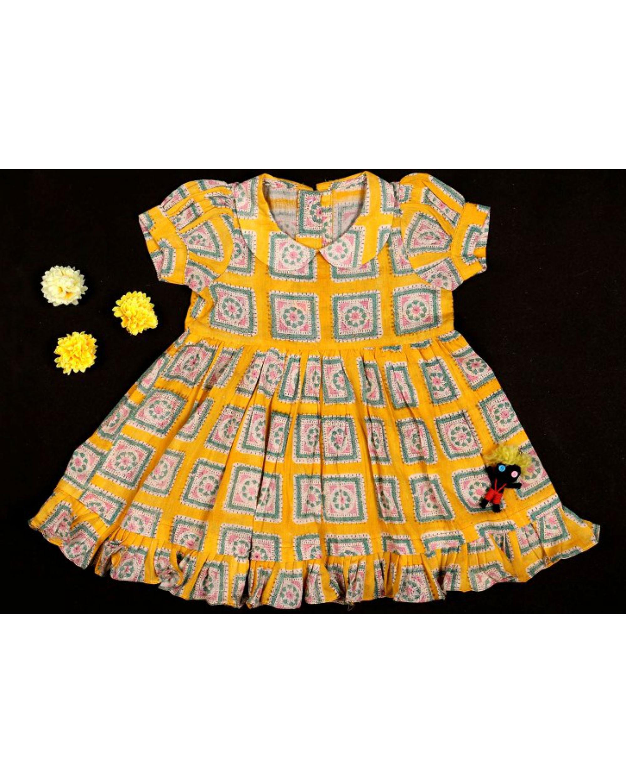 Sunny frill dress