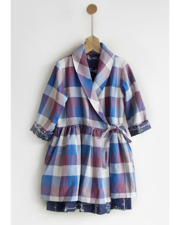 Winter checks dress jacket