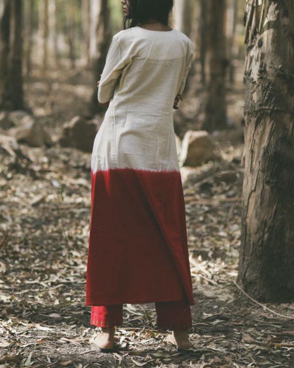 Red Mogra Pocket Dress 3