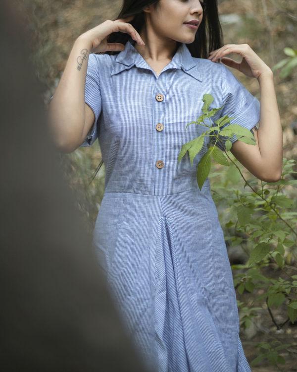 Double cowl dress 2