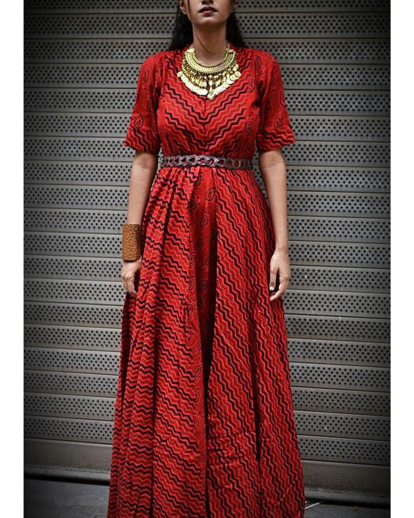 Red Angel Dress 1