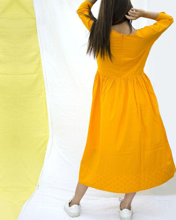 Chrome gathered dress 1