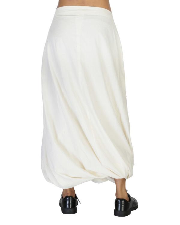 Twisted dhoti skirt 3