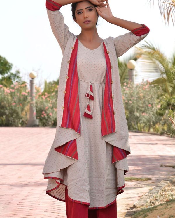 Ethnic jacket kurta with palazzo 1