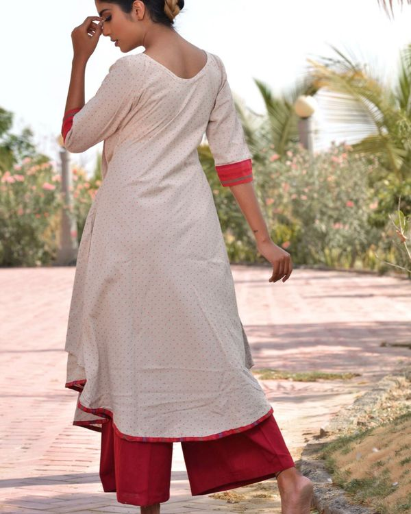 Ethnic jacket kurta with palazzo 3