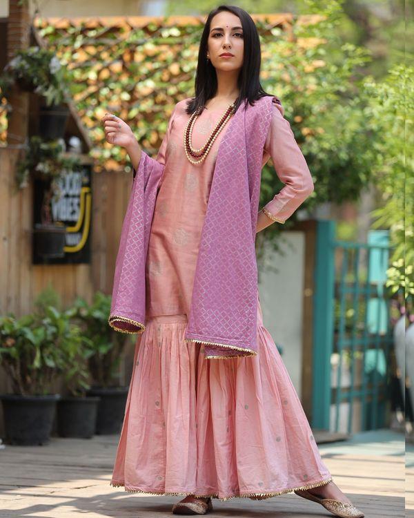 Pretty pink sharara 1