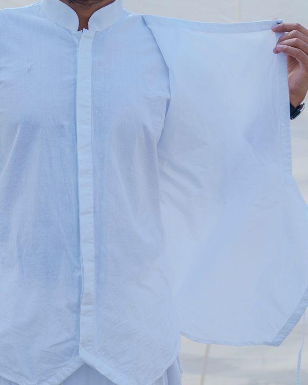 White cotton short kurta 2