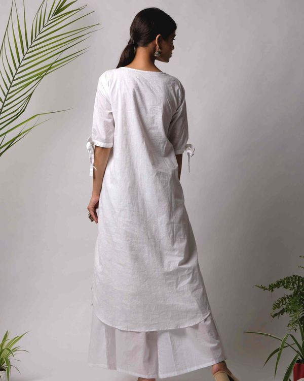 Ruma cotton kurta and pant -set of two 1