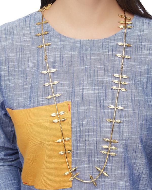 Jasmine bud-shaped gold plated necklace 1