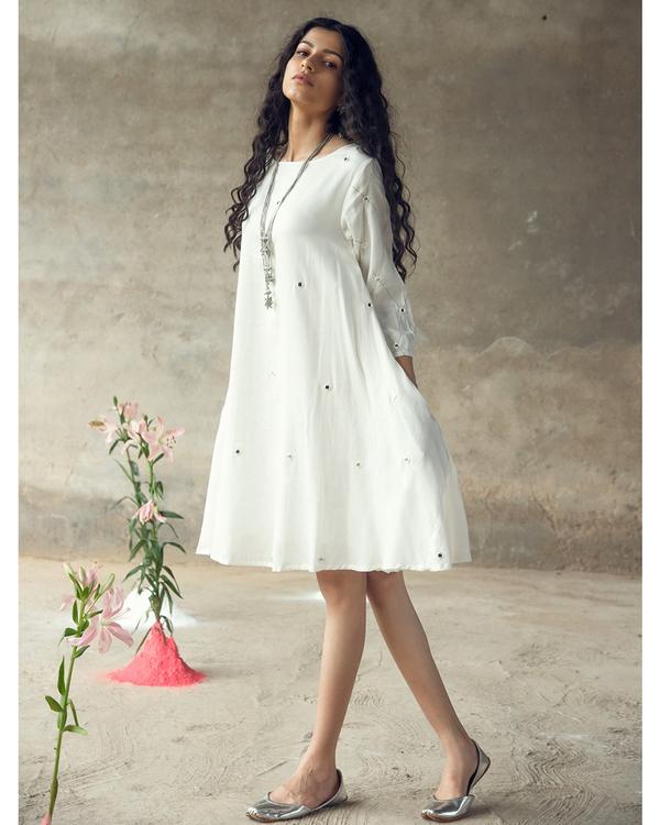 White swing dress 1