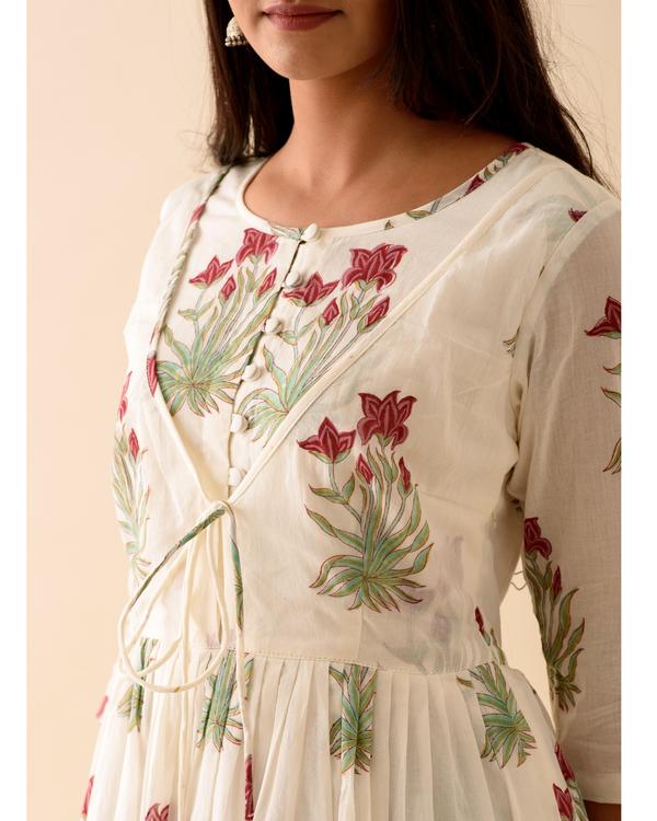 Off-white marsala print dress 1