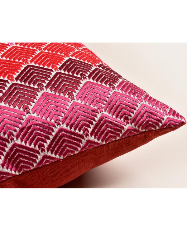Faridkot phulkari cushion cover 2