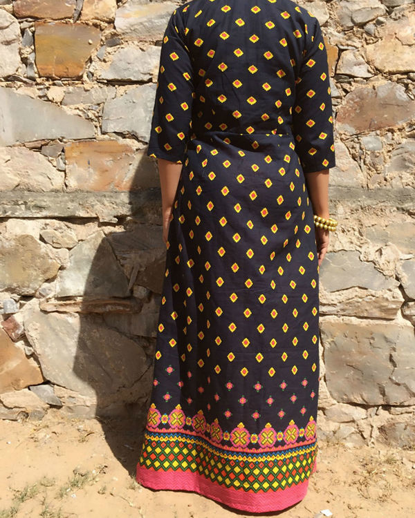 African printed cape 1