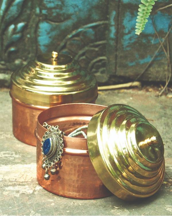 Heirloom copper box 1