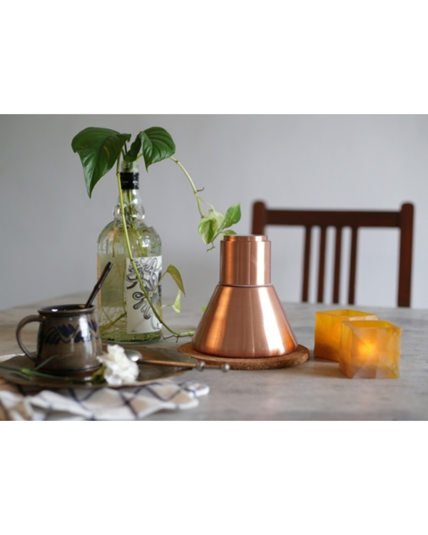 Copper stout carafe 2