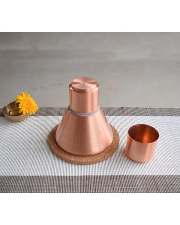 Copper stout carafe 1