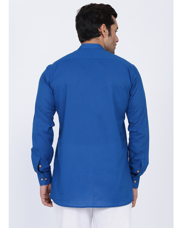 Cobalt blue shirt 2