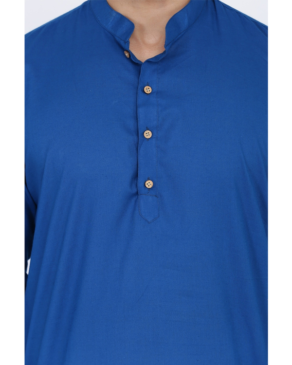 Cobalt blue shirt 1
