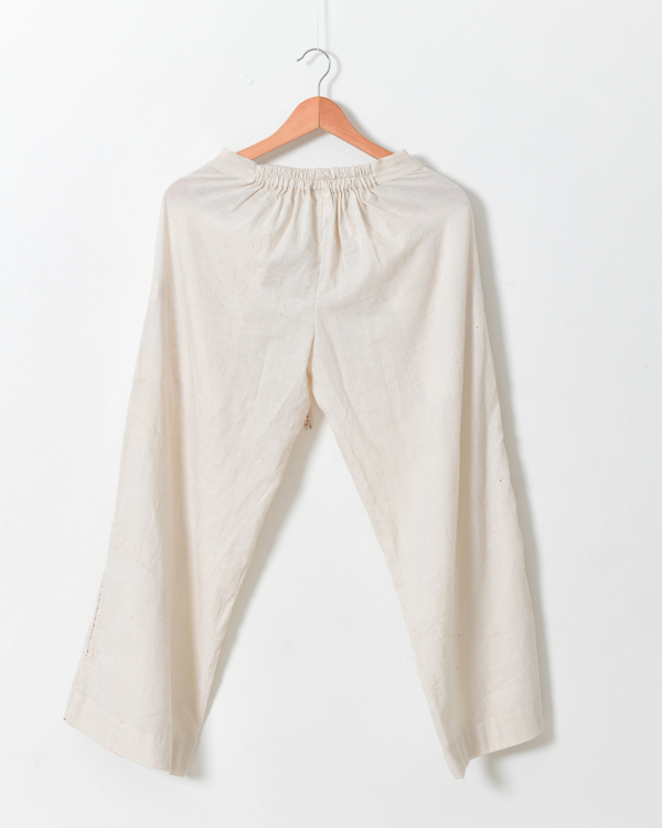 Off white tie up pants 2