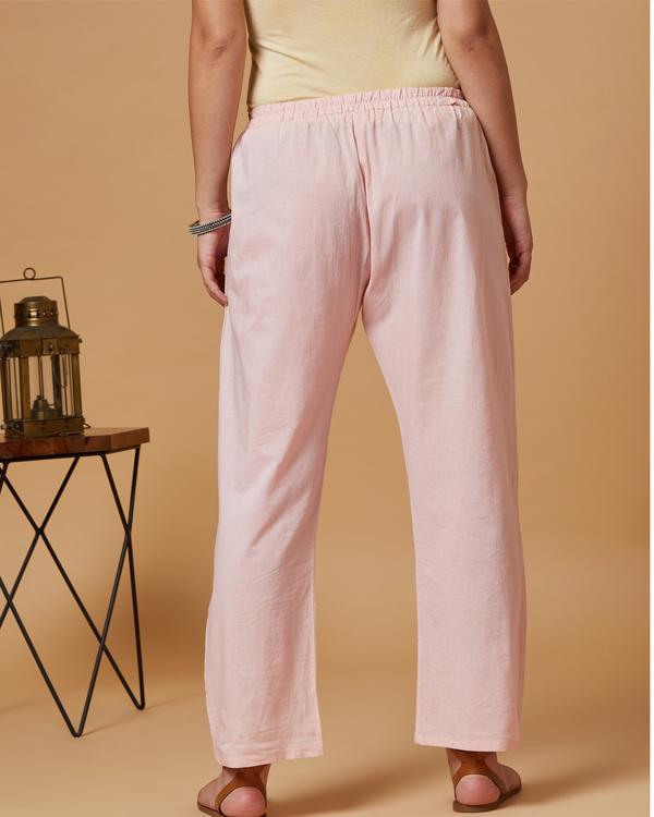Pink floral boota pants 2